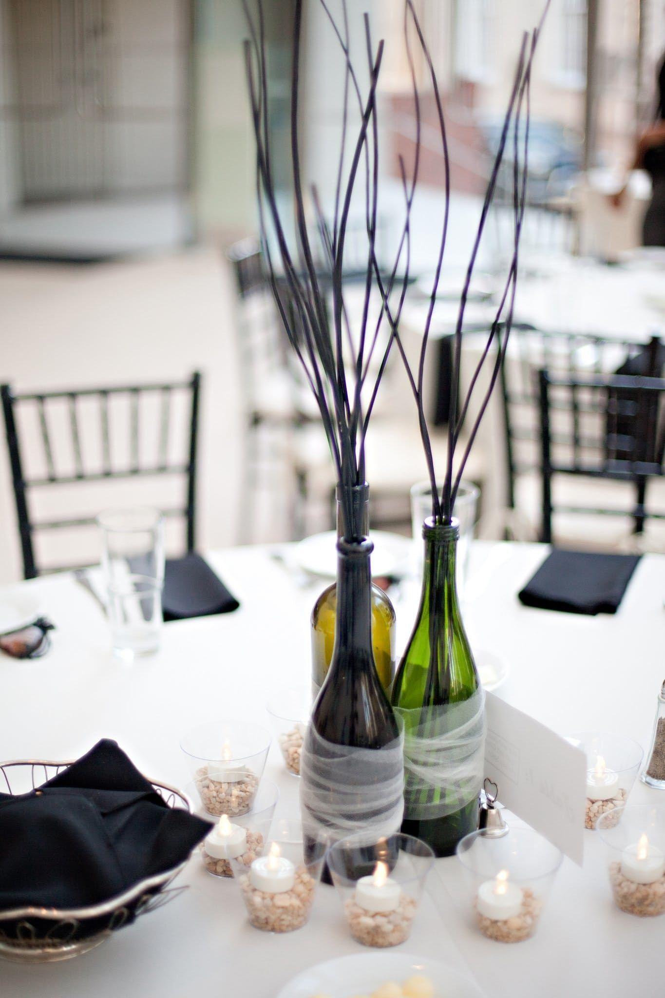15 Budget Non-Floral Wedding Centerpieces   Pinterest   Bye bye ...