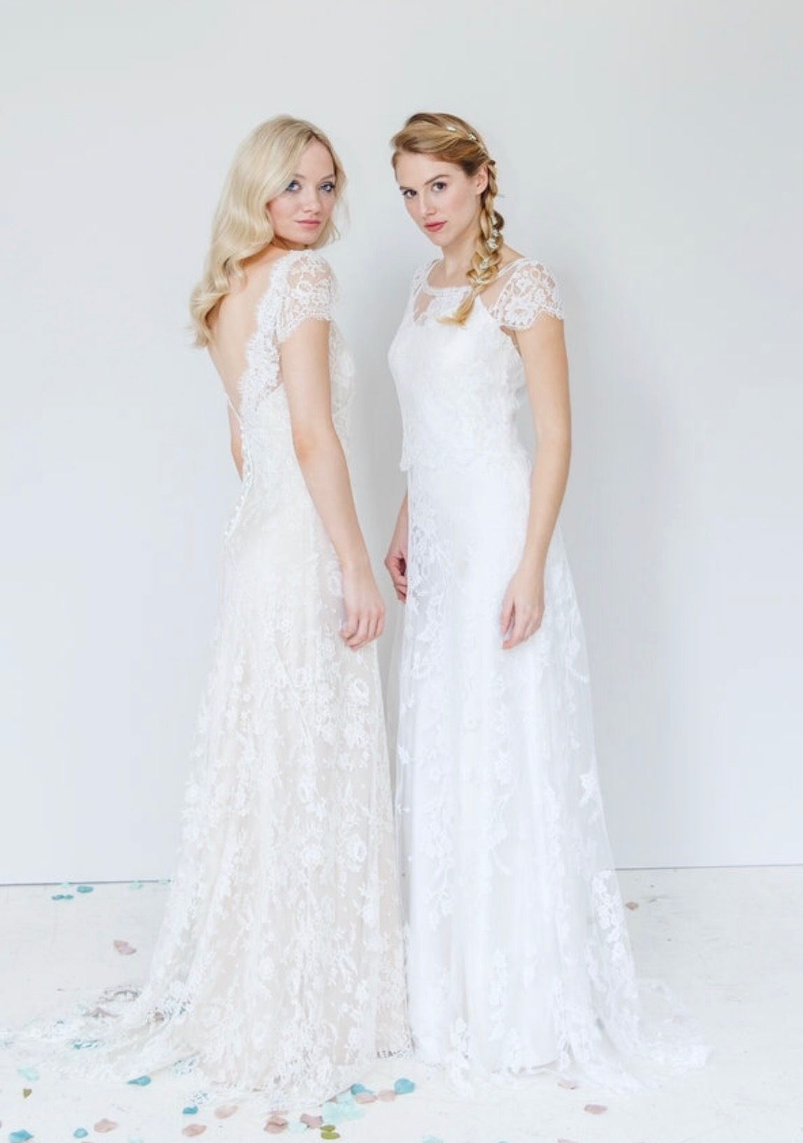 All over french lace boho wedding dress dress pinterest french