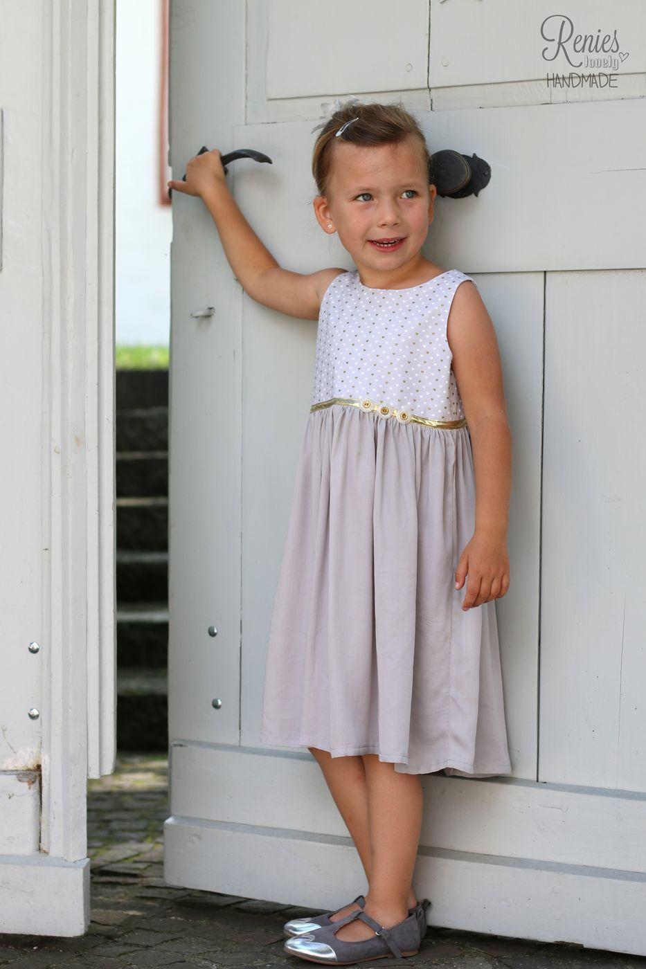 Nähe ein festliches Sommerkleid mit dem Schnittmuster Miss Ella ...
