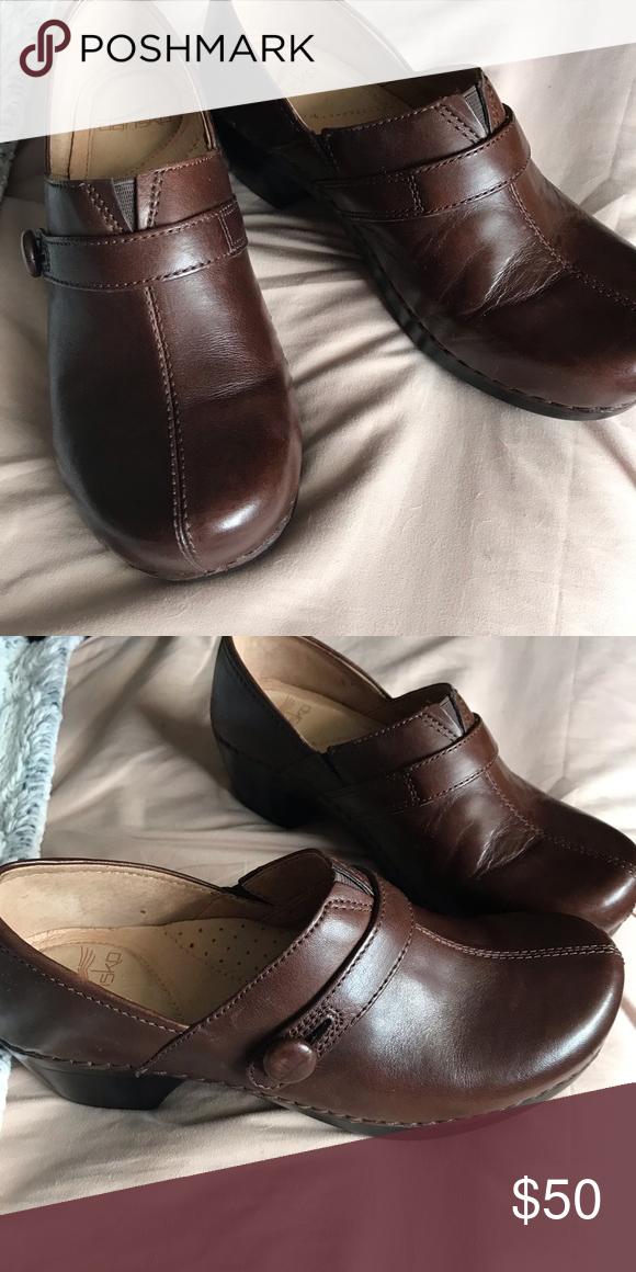 Shoes New worn once danskin clogs