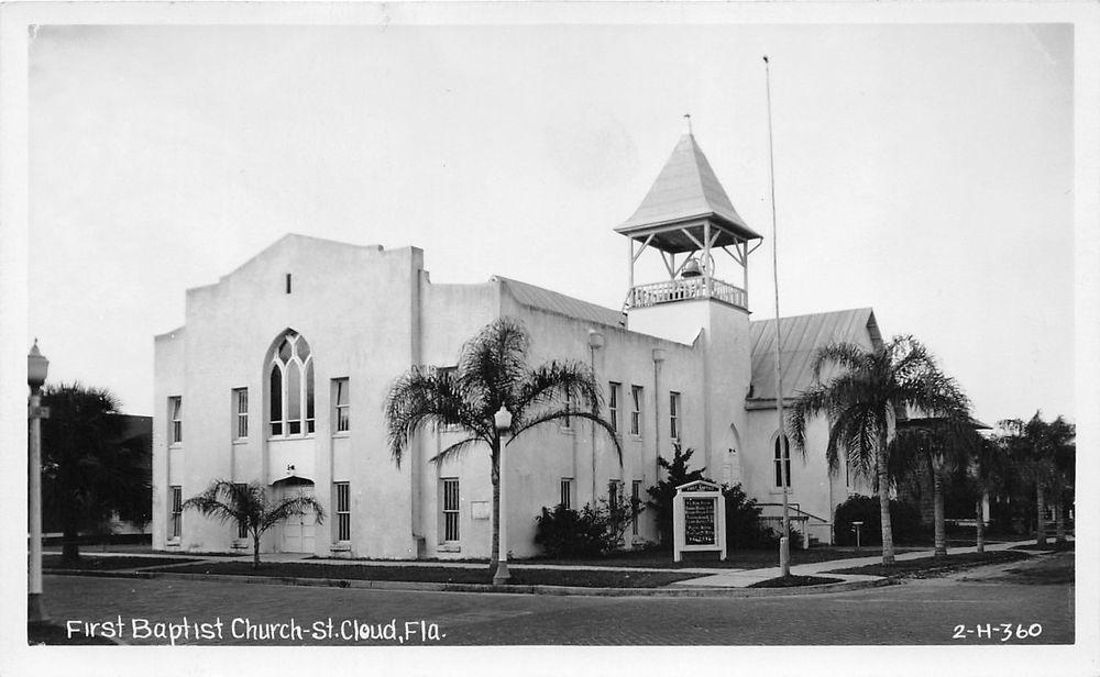 First Baptist Church St Cloud Florida Usa Modern Church Church Old Churches