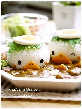 Little rice ball chickens for the next chicken curry/stew?