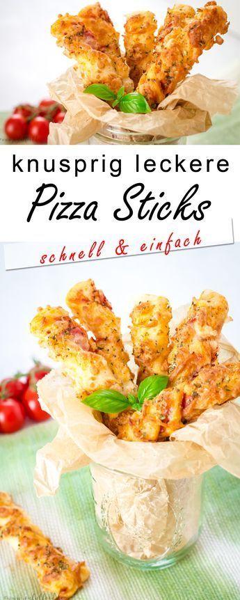 Photo of Super schnelle knusprige leckere Pizzasticks Fröhliches Essen