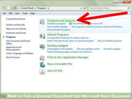 Turn a Scanned Document Into Microsoft Word Document Microsoft