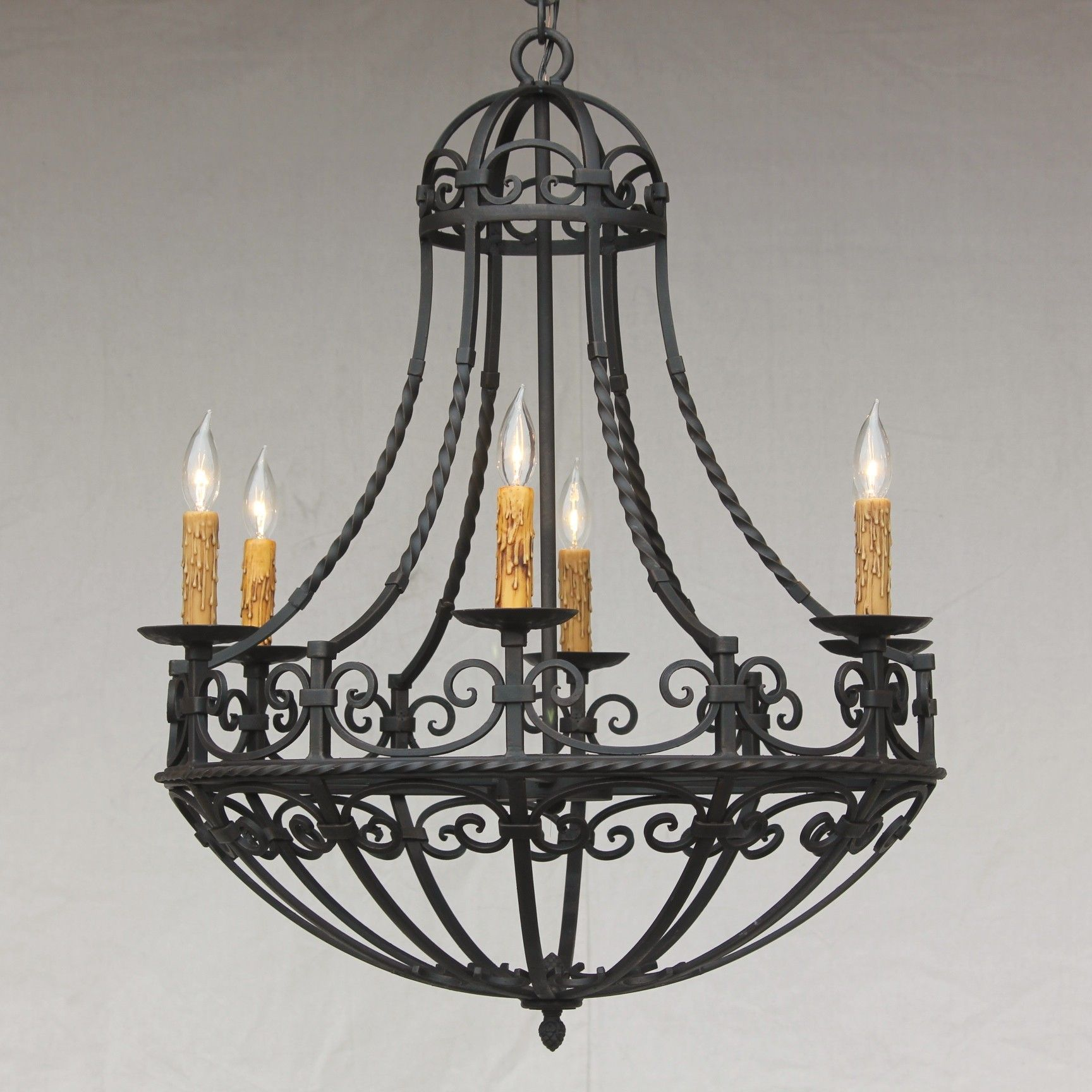 Spanish Revival / Spanish Colonial Chandelier