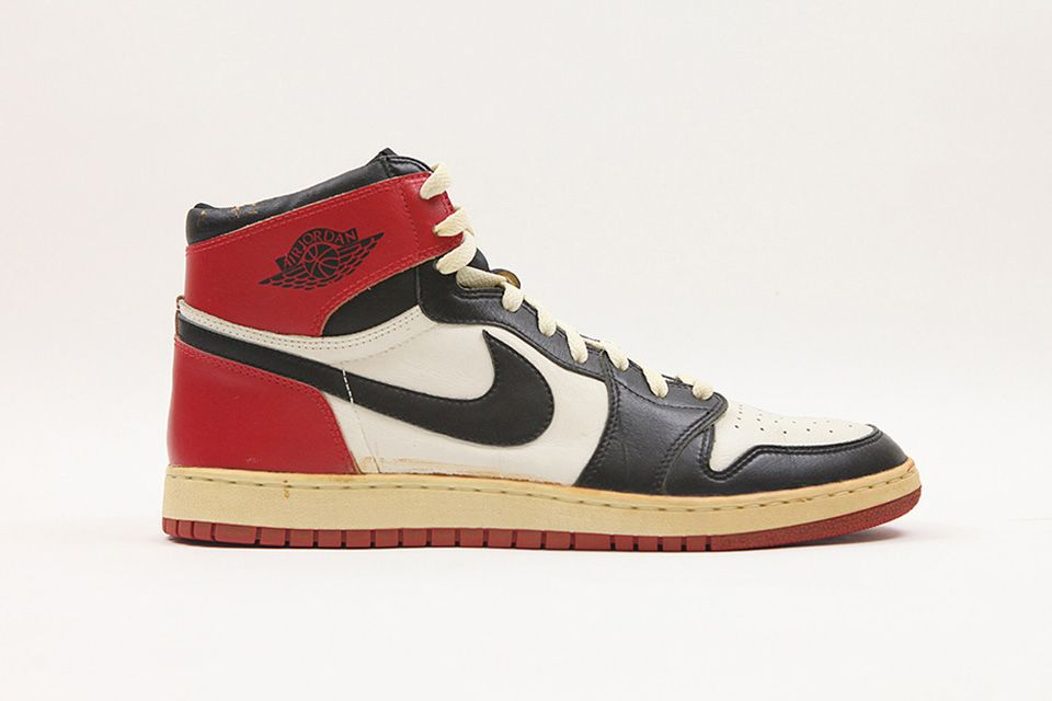 what was the first air jordan shoe