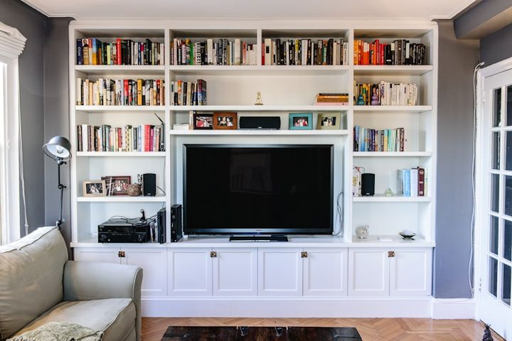 Tv Built In Could Box The Walls In Condo Living Room Home Built In Tv Wall Unit