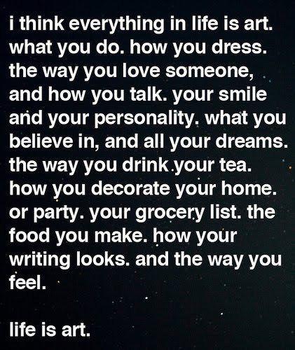 ... be you!!!... xo