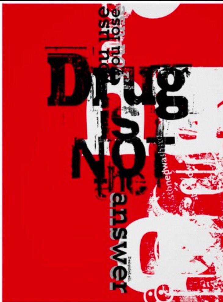 Poster Designed By Leili Fatemi ( Anti-Drug poster ) Let's ...