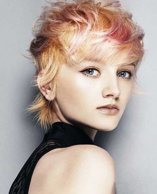 Image result for Layered Pixie with an Edgy Fringe