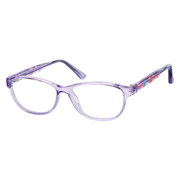 77f5cc9f37 Zenni Girls Cat-Eye Prescription Eyeglasses Purple TR 2022317 in ...