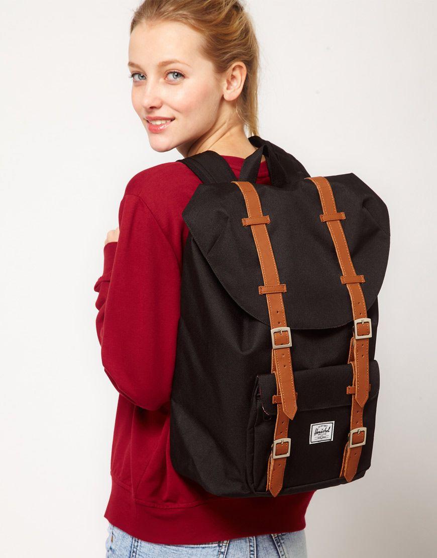 40486e7509 Herschel Little America Mid-Volume Backpack