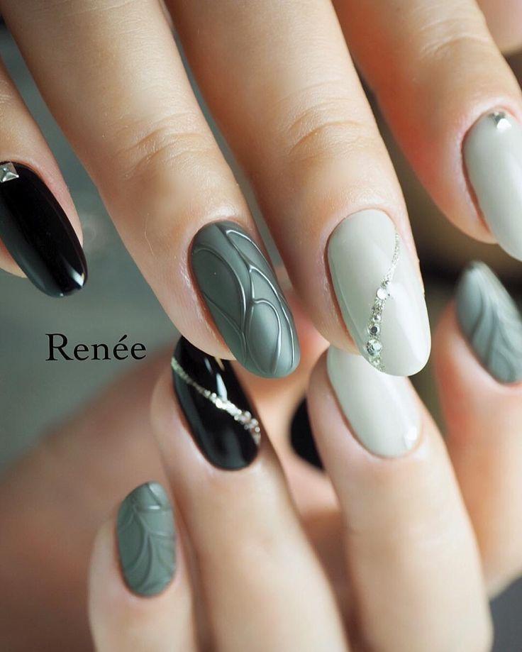 ɪɴsᴛᴀɢʀᴀᴍ Voguestylee ᴘɪɴᴛᴇʀᴇsᴛ Winter Nail Designs Art Trendy