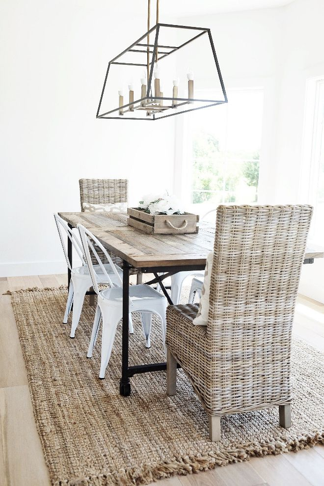 Home // Farmhouse Dining Room | Room, House and Kitchens