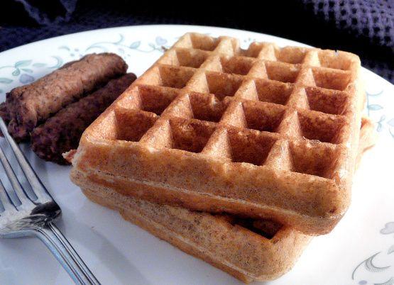 Healthy Sourdough Whole Grain Waffles And Pancakes Recipe - Food.com