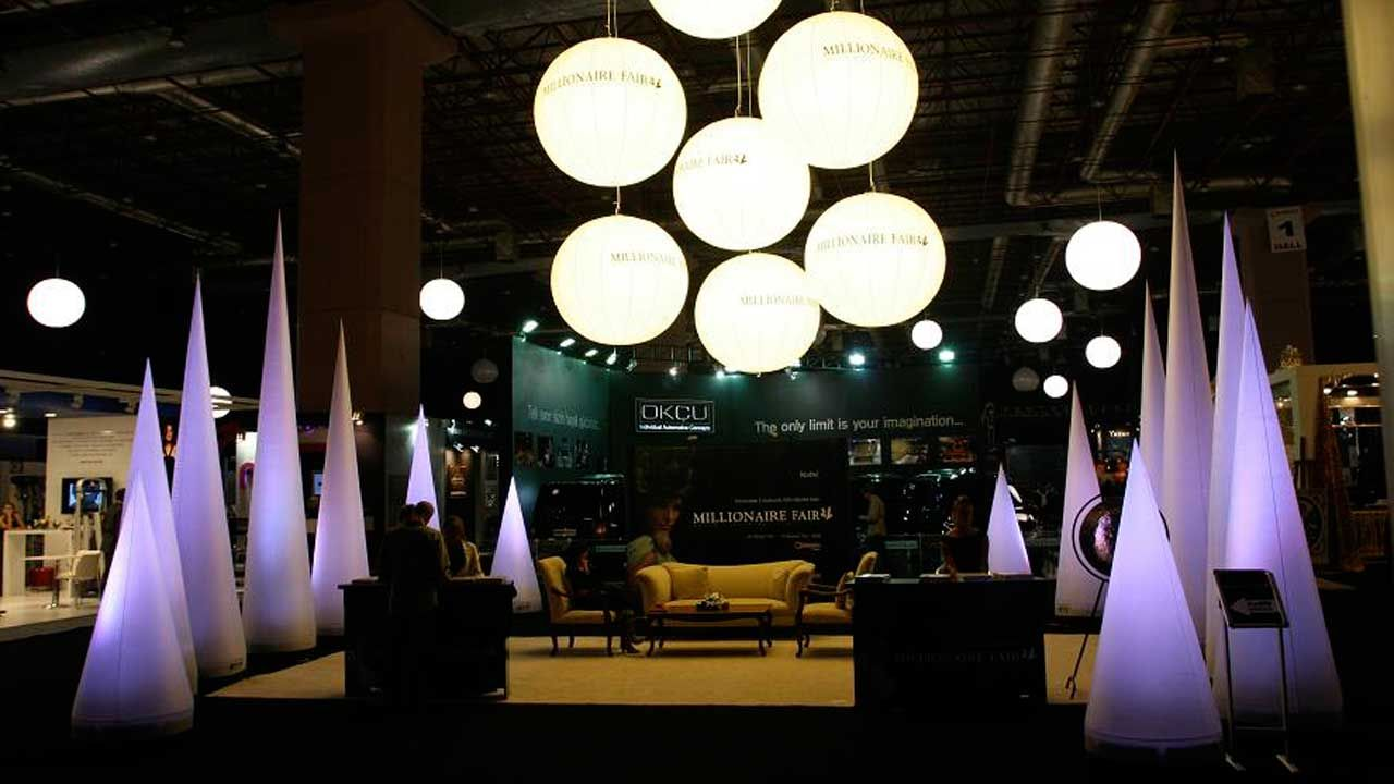 make your exhibition booth unforgettable with airstar lighting