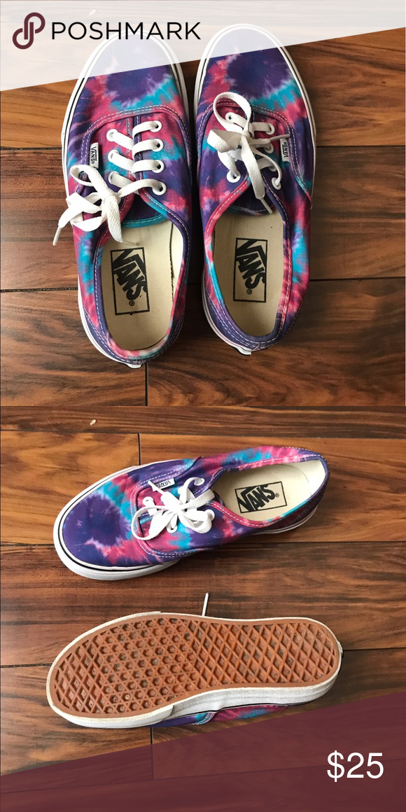 1abc9e362a Selling this Tie dye vans on Poshmark! My username is  dsalamander.   shopmycloset  poshmark  fashion  shopping  style  forsale  Vans  Shoes