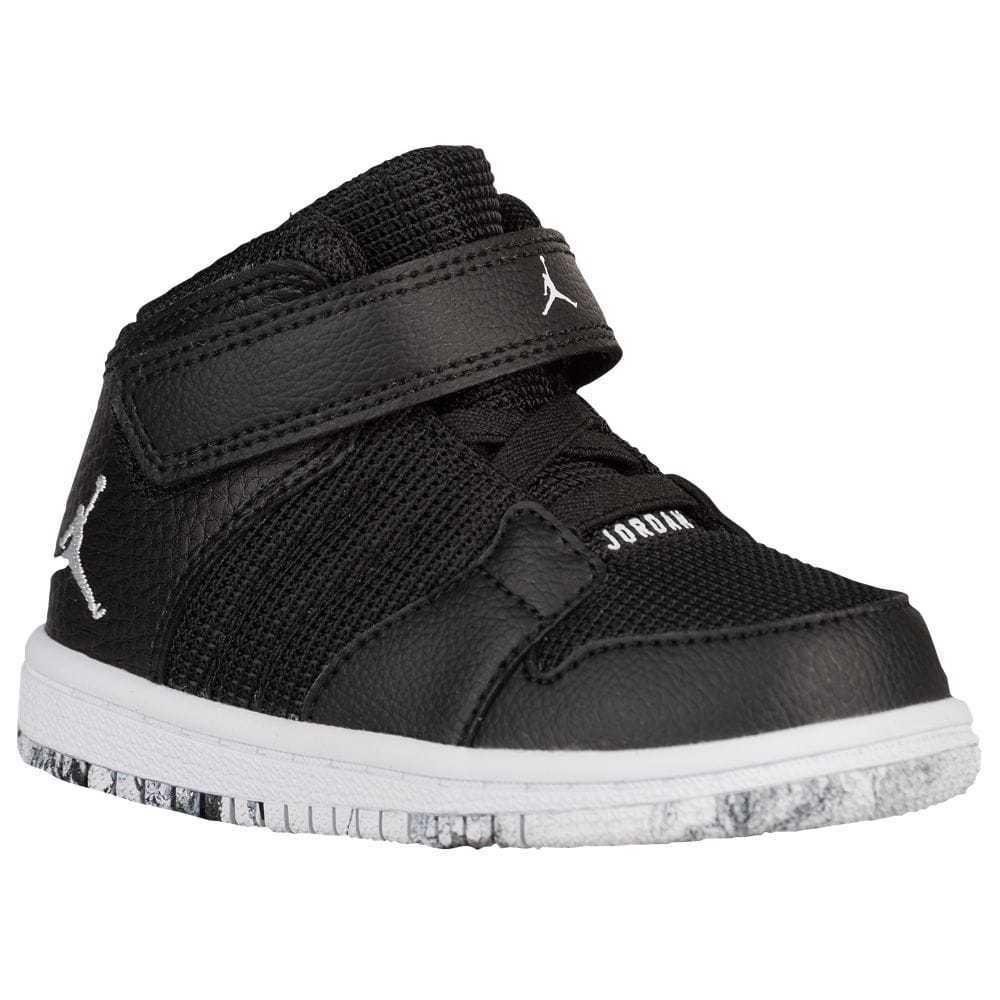 5c3ece46d NIKE JORDAN 1 Flight 4 Boys Toddler Sneakers Shoes Black Hi Top 9 C 828244   Jordan  Athletic