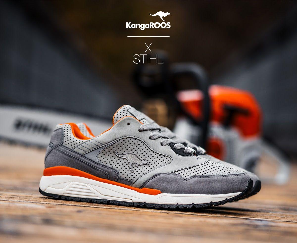 0f01b7a37e STIHL x Kangaroos. STIHL x Kangaroos Vans Sneakers ...