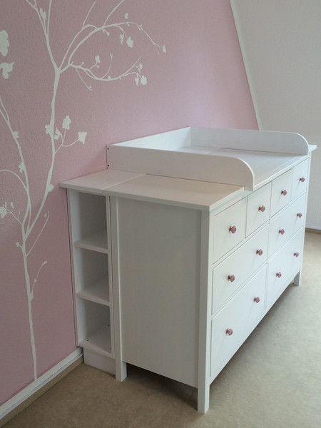 Wickelaufsatz Ikea wickelaufsatz regal für breite hemnes babies nursery and room