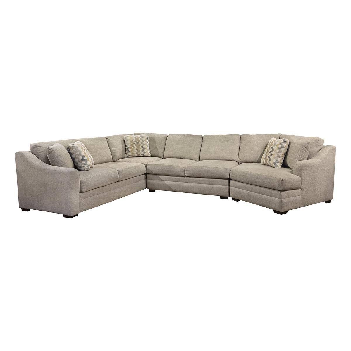 Quail Run 3 Piece Sectional In Lilou Nebraska Furniture Mart