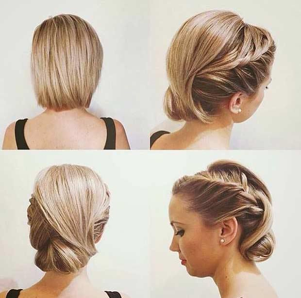 2016 Wedding Hairstyles For Short To Mid Length Hair Styles 2d Short Wedding Hair Chin Length Hair Hair Lengths