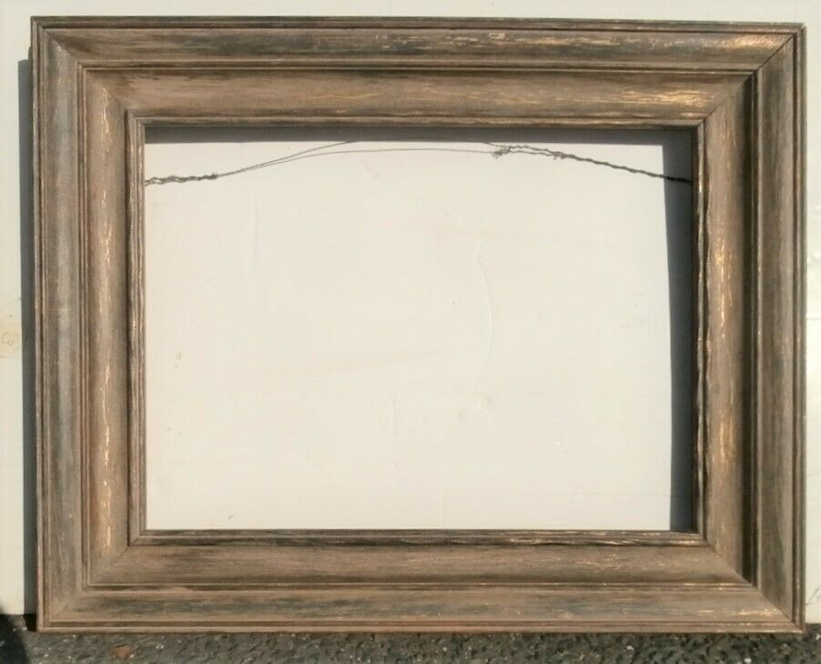 1930 S Wpa Wood Picture Frame For 12 X 16 Inch Painting Whitewashed Gilt 3 Wide Wpaorpaimpressionist Stam Picture On Wood Wood Picture Frames Picture Frames