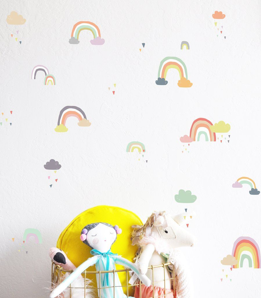 Best Rainy Rainbows Decals For The Home In 2019 Wall 400 x 300