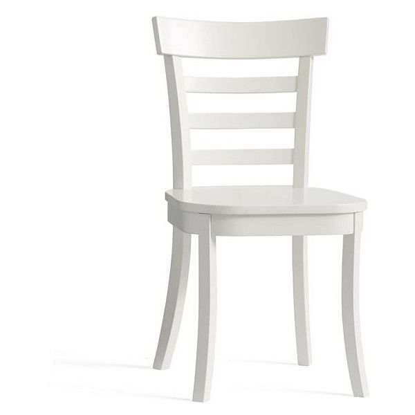 Pottery Barn Liam Dining Chair ($99) liked on Polyvore ...