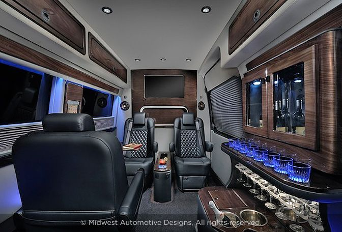 Stunning Mercedes Benz Sprinter Van Interior Courtesy Of