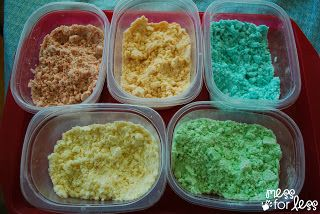 Mess For Less: No Cook Lotion Dough