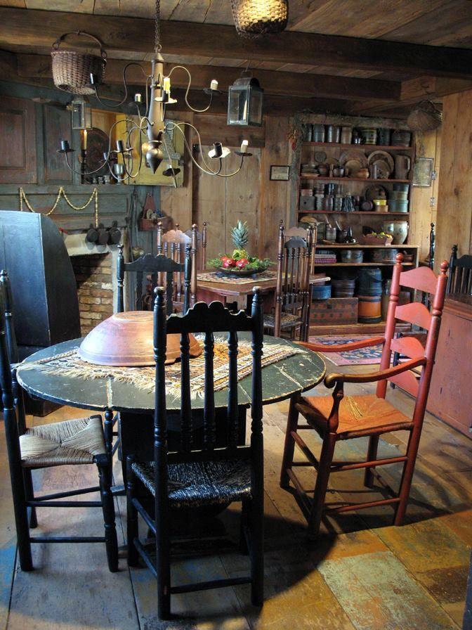 Primitive Great Room