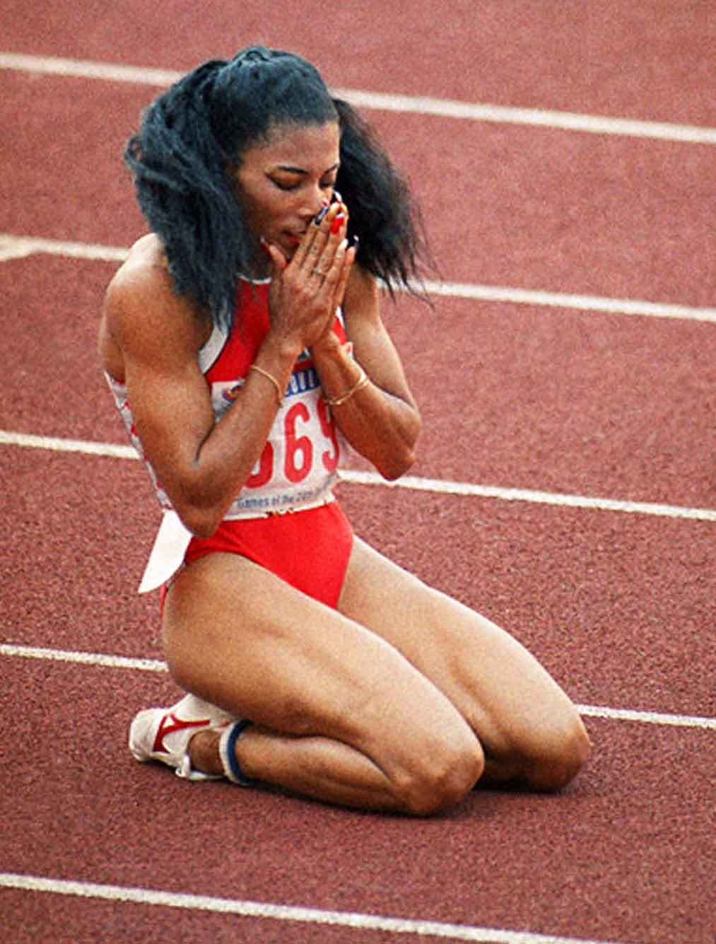 Florence Griffith Joyner 5 Olympic medals
