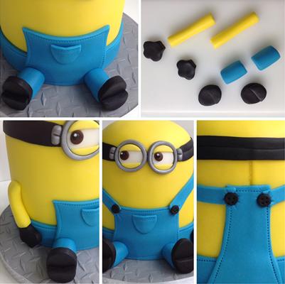 How To Make A Minion Birthday Cake Birthday Cake Minion