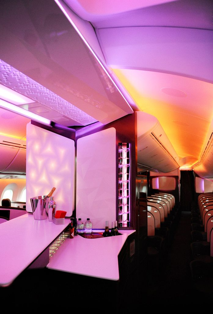 Airplanes are using color changing led light to make flying more comfortable read more