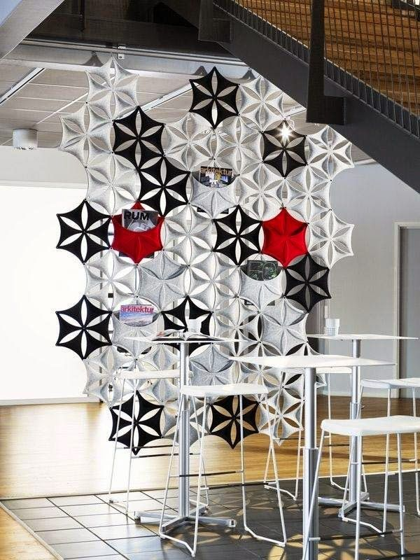 decorative room divider ideas, luxury room partition wall design ...