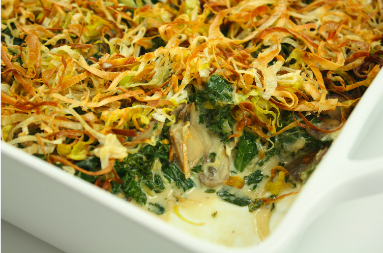 healthy alternative to green bean casserole!