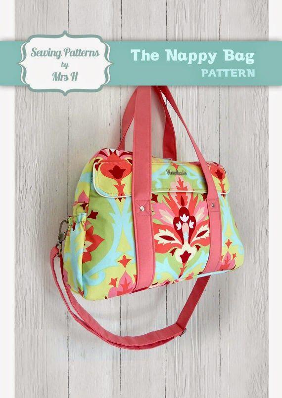 Ana Cristina Handmade : The Nappy Bag Sew Along | Purse/Bag | Pinterest