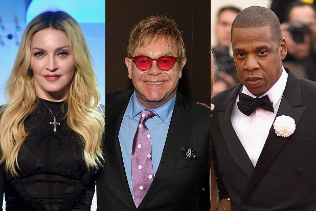 These legends don't just crank out hits, they rake in tons of money, according to MarketWatch's January list of the world's highest paid musicians