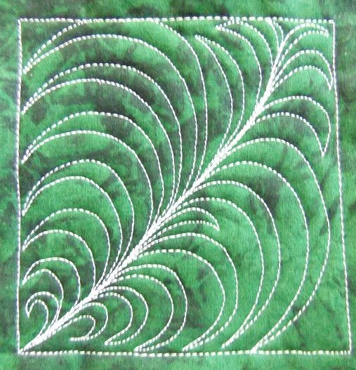 Spiky Fern - Day 153 by Leah Day, via Flickr