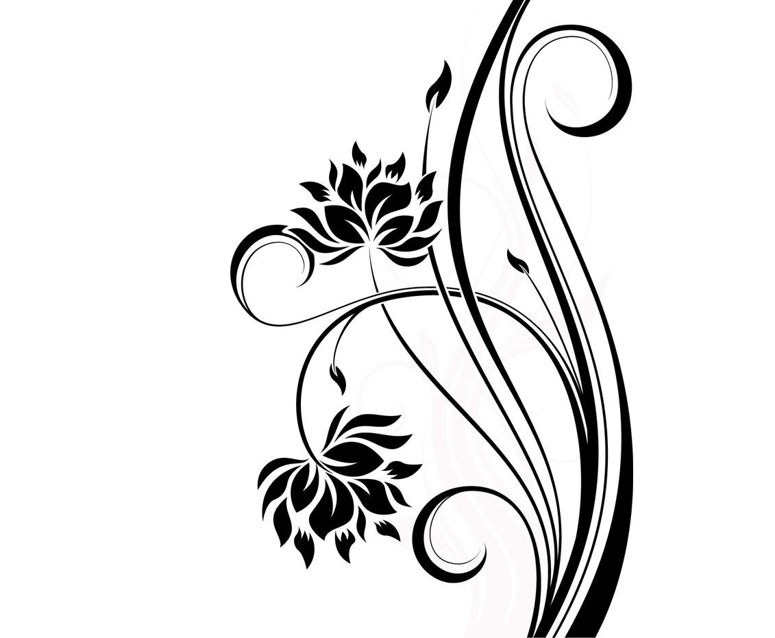 simple floral designs patterns simple floral patterns to draw