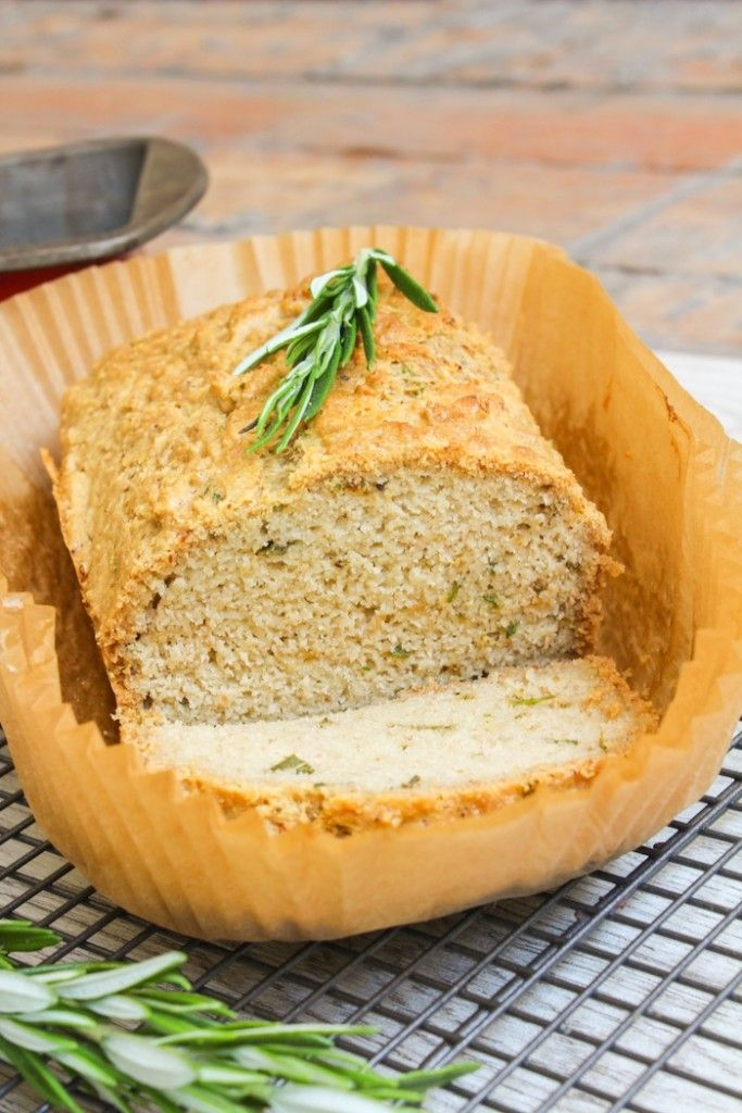 Paleo Rosemary Almond Bread