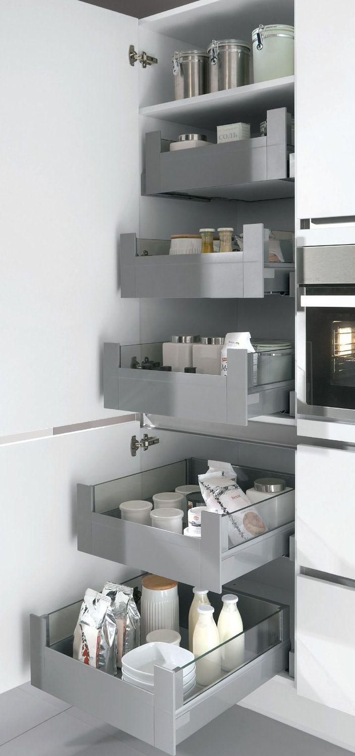 T decides y eliges c mo quieres los armarios y cajones de for Gabinetes de cocina pequena