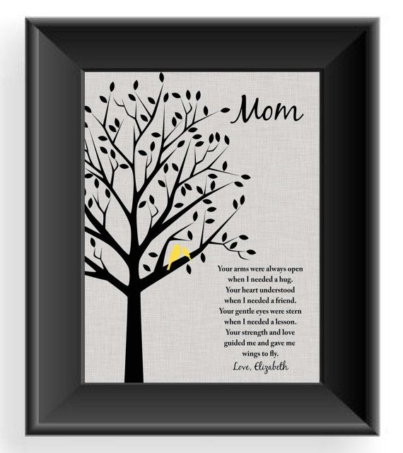 Custom Mom Gift Mother S Day Personalized Birthday For Mum Christmas Can Be Made In Other Colors