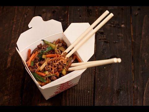 Comida china wok recetas