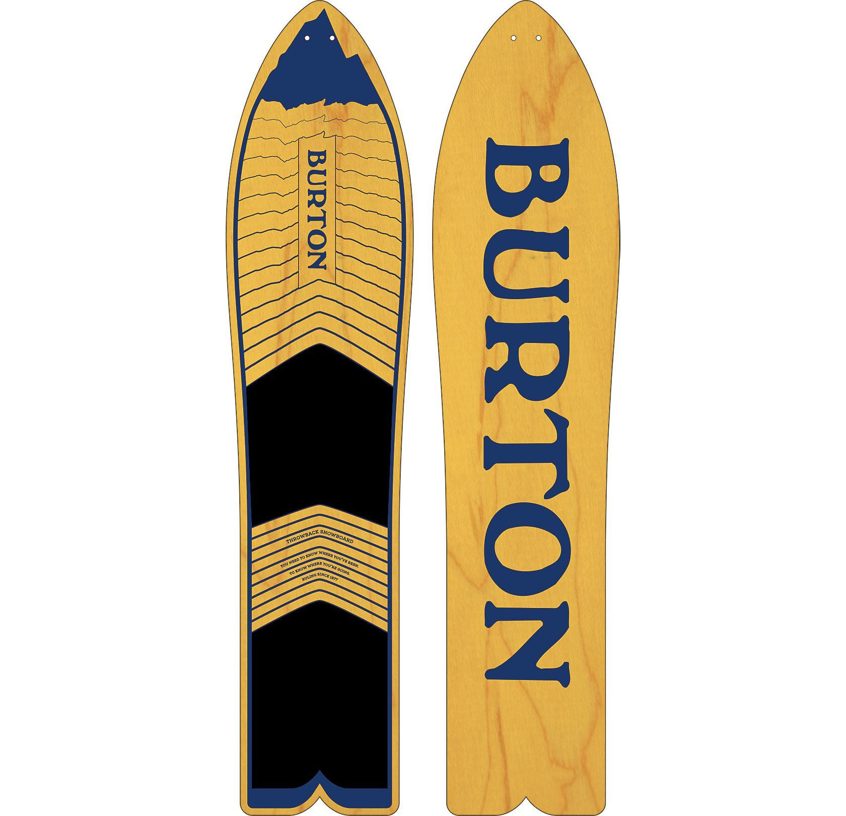 1ffed887910 Burton The Throwback snowboard 130