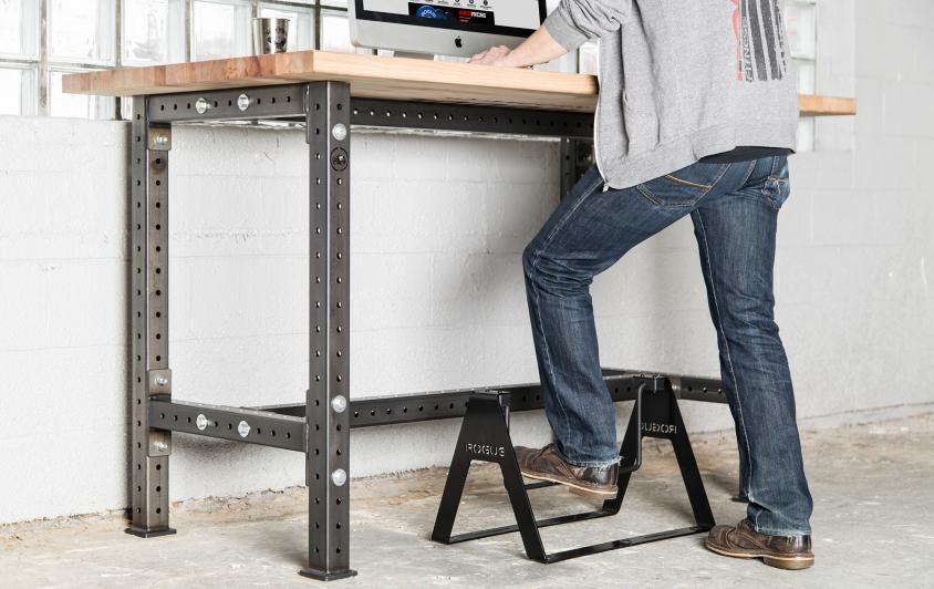 Rogue Fidget Bar Stand Up Desk Design Standing Desk Addition