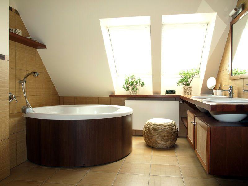 Badezimmer Dachschräge Interior Pinterest Interiors - dachschrgebadezimmer