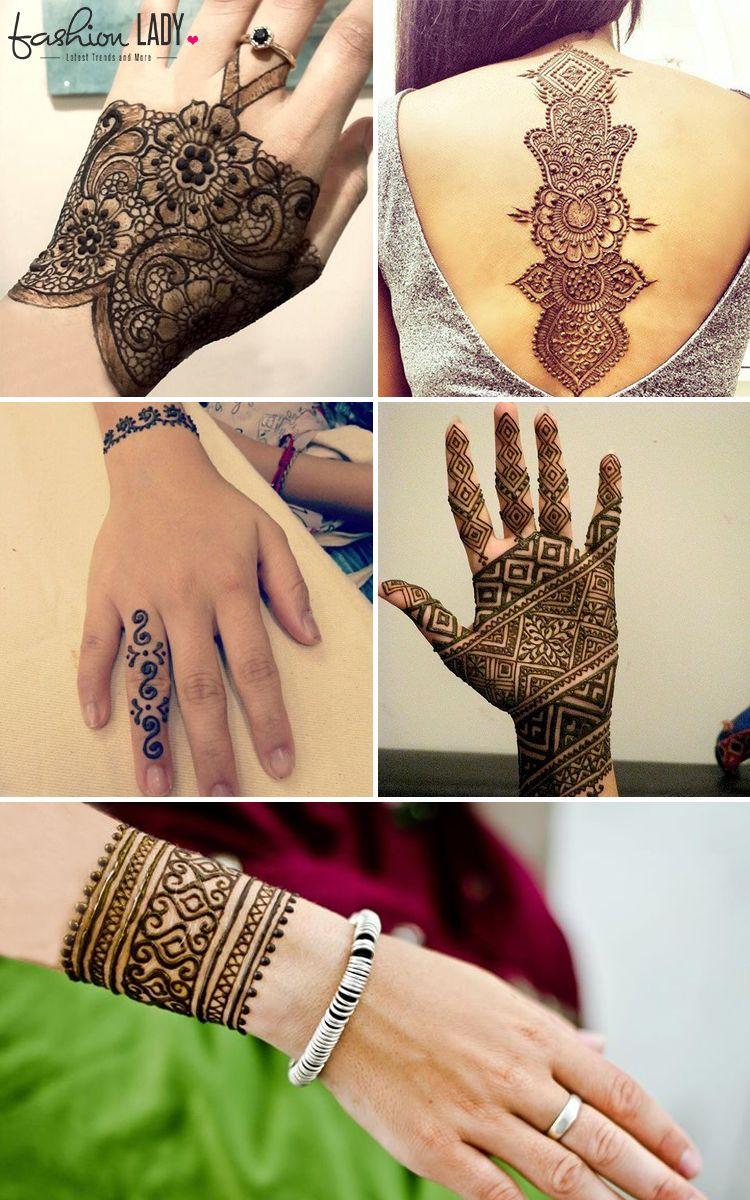 different types of mehndi