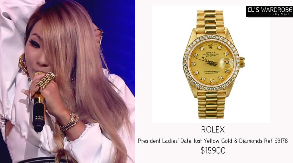 @clswardrore: #CL Watch:#ROLEX President Ladies' Date Just Yellow Gold & Diamonds
